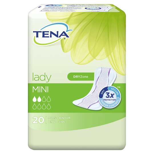 Tena Lady Mini Bladder Weakness Pads 20 Pack