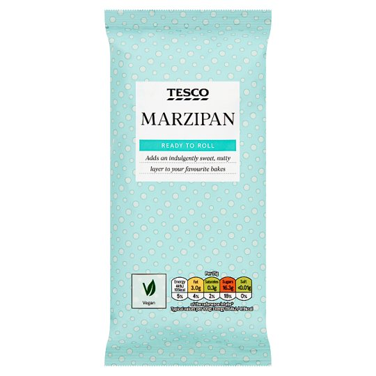 Tesco Ready To Roll Natural Marzipan 500G