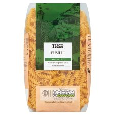 Tesco Fusilli Pasta Twists 1Kg