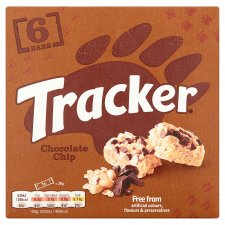 image 3 of Tracker Chocolate Chip 6 Pack 156G