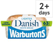 Warburtons Danish Sliced Small White Bread 400G