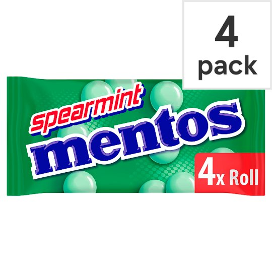 image 1 of Mentos Spearmint 4 Pack 152G