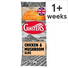 Ginsters Chicken And Mushroom Slice 170G