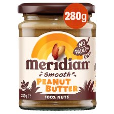 Meridian Peanut Butter Smooth 100% Nuts 280G