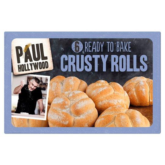 Paul Hollywood Ready To Bake Crusty Rolls 6 Pack