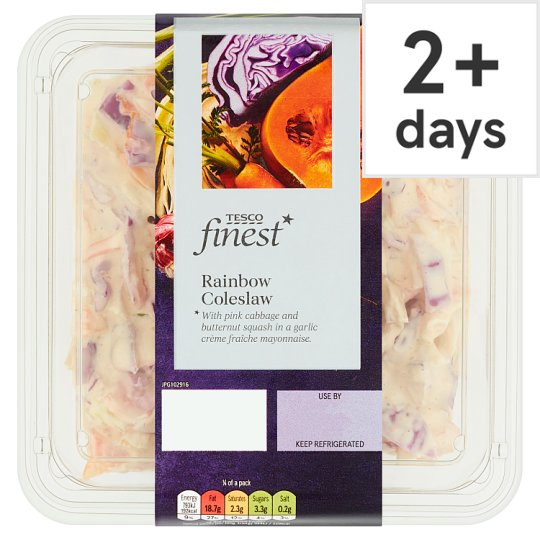 Tesco Finest Rainbow Coleslaw 335G
