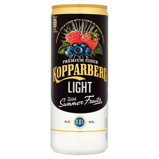 Kopparberg Summer Fruit Light 250Ml