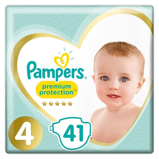 image 1 of Pampers Premium Protection Essential Pack Size 4 41 Nappies