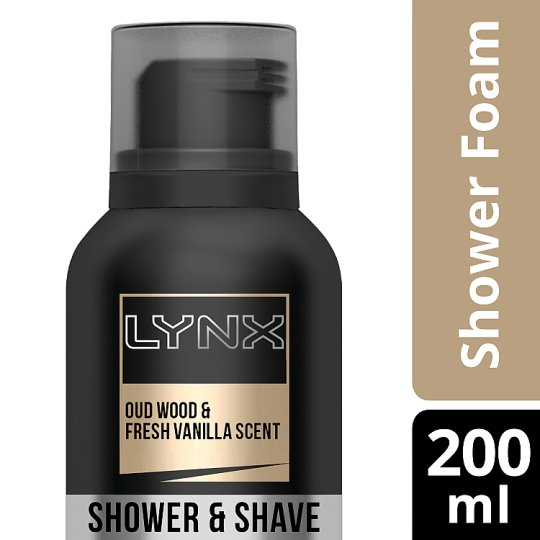 Lynx Gold Shower Foam 200Ml