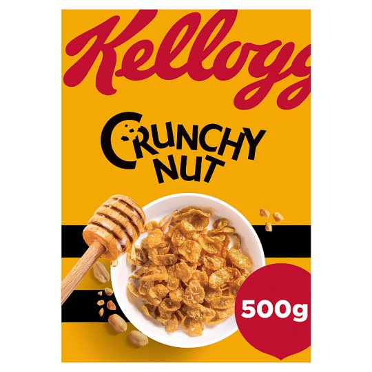 Kelloggs Crunchy Nut Corn Flakes Cereal 500G