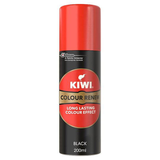 Kiwi Suede And Nubuck Renovator Black 200Ml