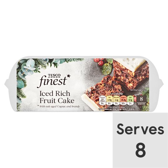 Tesco Finest Rich Fruit Cake 400G