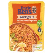 Uncle Bens Special Wholegrain Mediterranean Vegetable Rice 250G