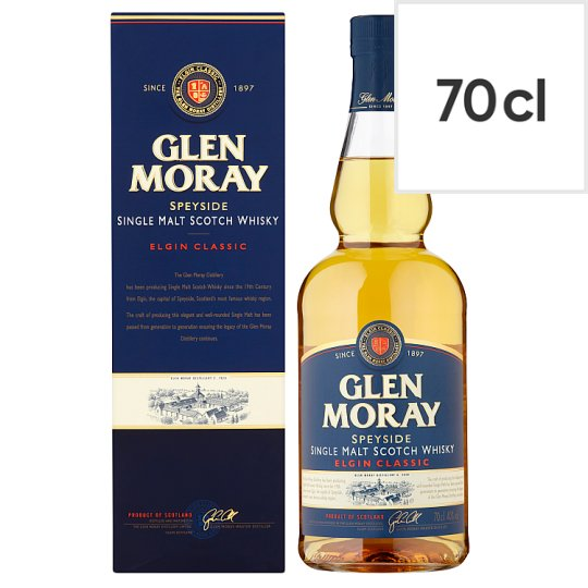 Glen Moray Single Malt Whisky 70Cl