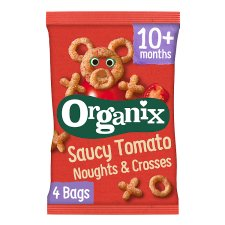 Organix Noughts And Crosses 4X15g