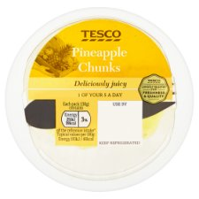 image 1 of Tesco Pineapple Chunks 130G