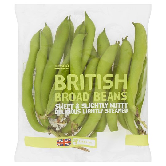 image 1 of Tesco Broad Beans 500G