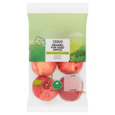 Tesco Organic Goodness Apples 420G