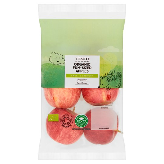 image 1 of Tesco Organic Goodness Apples 420G