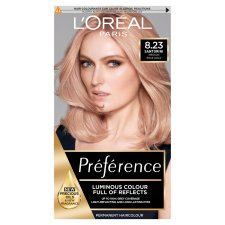 Loreal Infinia Preference Shimmering Rose Gold Hair Dye