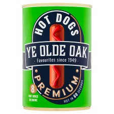 Ye Old Oak 8 Premium Hot Dogs Brine 400G