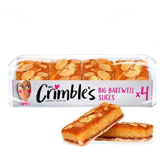 Mrs Crimble's Bakewell Slices 4 Pack