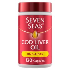 Seven Seas Cod Liver Oil One A Day 120 Capsules