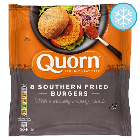 Quorn Burgers Nutritional Information