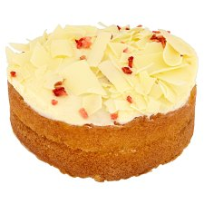 image 2 of Tesco Finest White Chocolate And Strawberry Cake