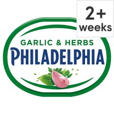 Philadelphia Soft Cheese With Garlic & Herb 170G