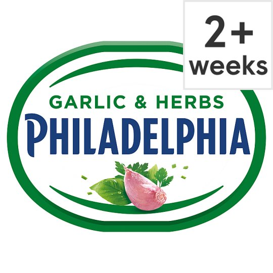 Philadelphia Light Soft Cheese With Garlic And Herb 170 G