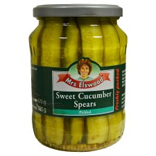 Mrs Elswood Sweet Cucumber Spears 670G