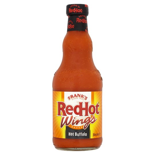 Frank's Redhot Wings Hot Buffalo 354Ml