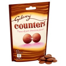 image 3 of Galaxy Counters Chocolate Bag 112G