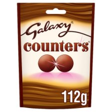 Galaxy Counters Chocolate Bag 112G