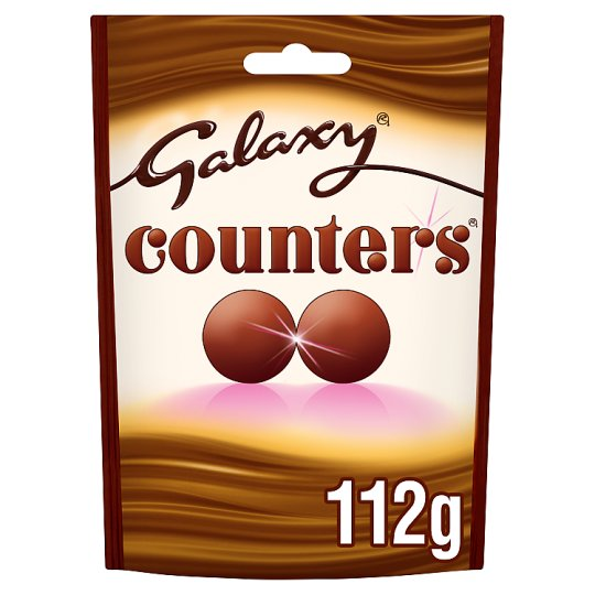 image 1 of Galaxy Counters Chocolate Bag 112G