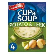 Batchelors Cup A Soup Creamy Potato And Leek 4 Pack 107G