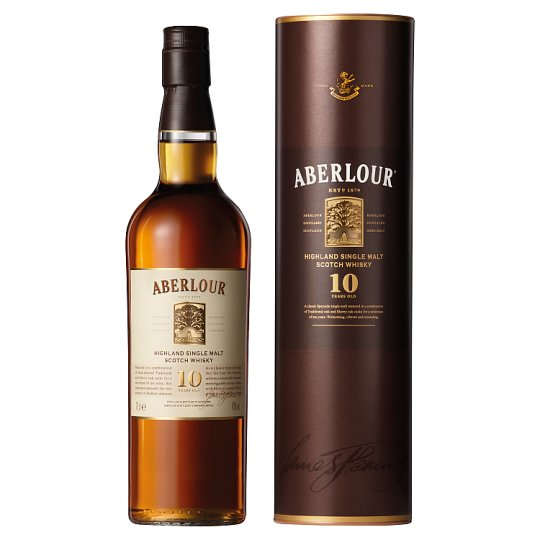 Aberlour 10Yr Single Malt Whisky 70Cl