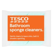 Tesco Sponge Bathroom Cleaner 2 Pack