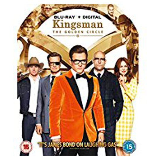 Kingsman 2 The Golden Circle Bd+Dd