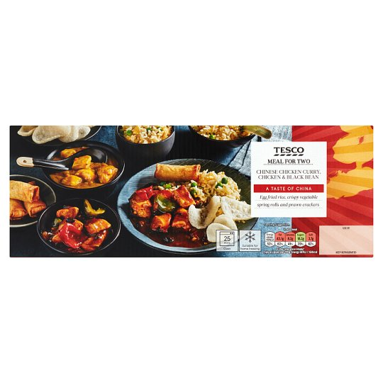 Tesco Chinese Chicken And Blackbean Curry Meal Box 1.27Kg