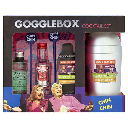 Gogglebox Cocktail Shaker Gift - Groceries - Tesco Groceries