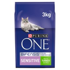 image 1 of Purina One Sensitive Turkey And Rice 3Kg