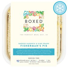 Boxed Smoked Haddock And King Prawn Fisherman'S Pie 820G