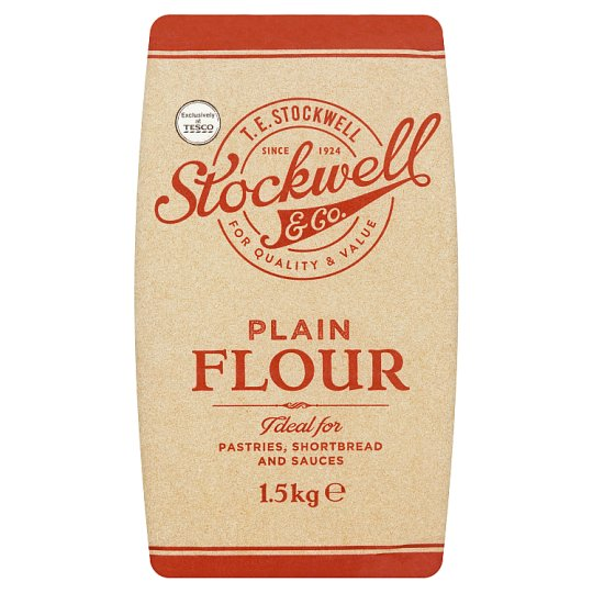 Stockwell And Co. Plain Flour 1.5Kg