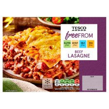 Tesco Free From Beef Lasagne 430G