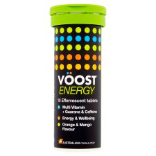 Voost Energy Orange And Mango X10