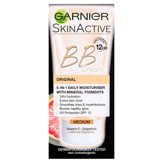 image 1 of Garnier Bb Cream Original Medium Tinted Moisturiser 50Ml