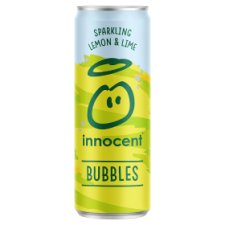Innocent Bubbles Lemon Lime And Apple Juice Drink 330 Ml