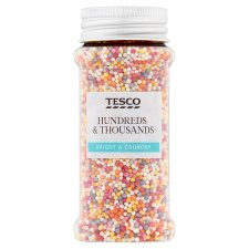 Tesco 100'S And 1000'S Sprinkles 85G